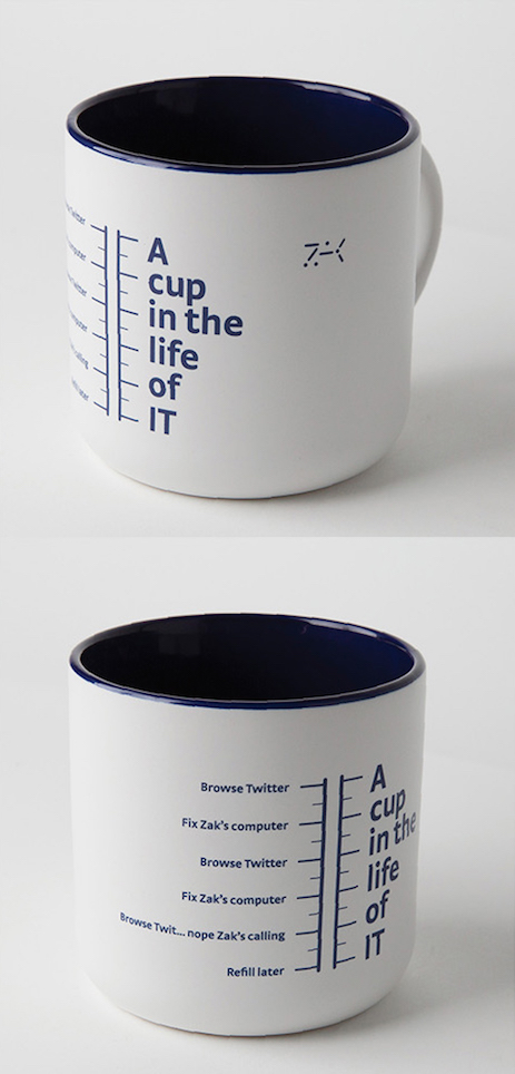 A cup in the life of IT
