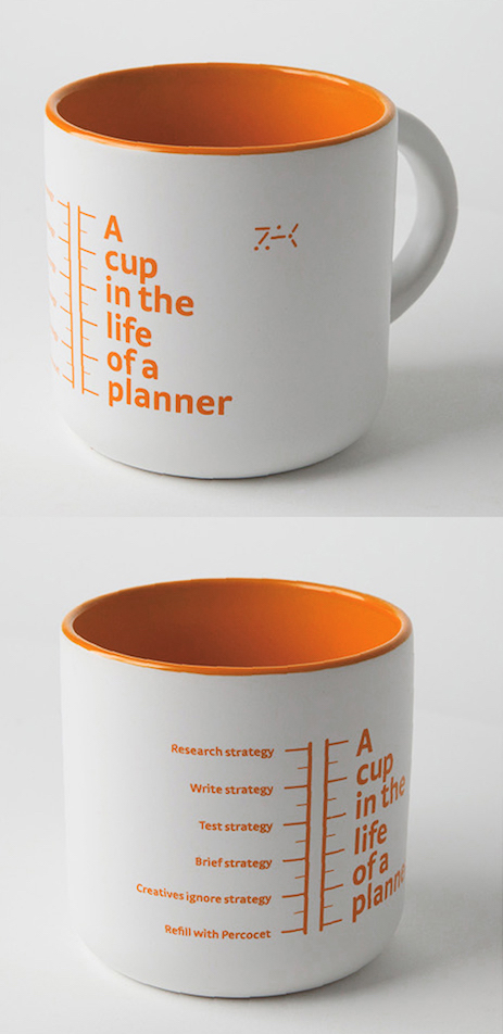 A cup in the life of a planner