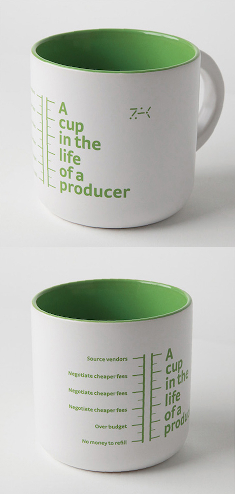 A cup in the life of a producer