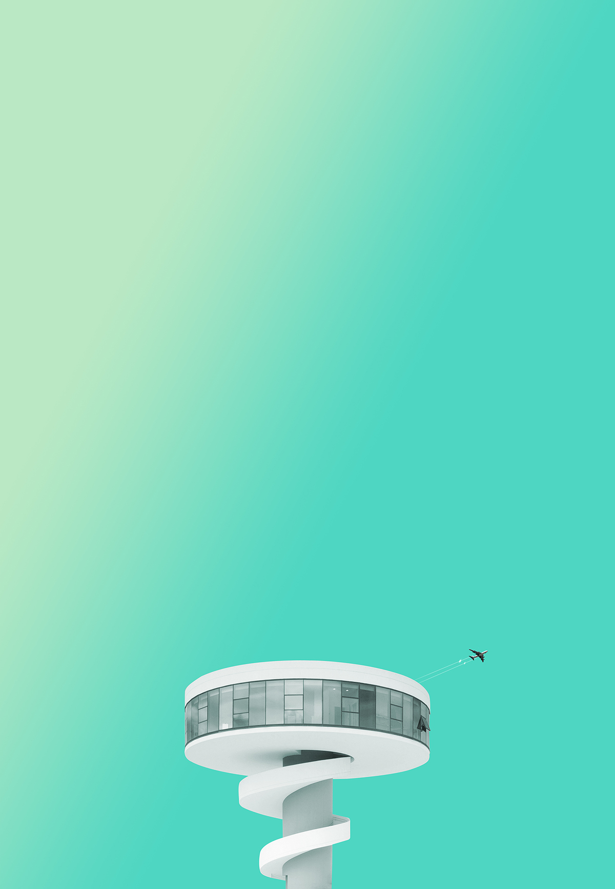 Art director creates beautiful minimalist images of for Minimalist art design