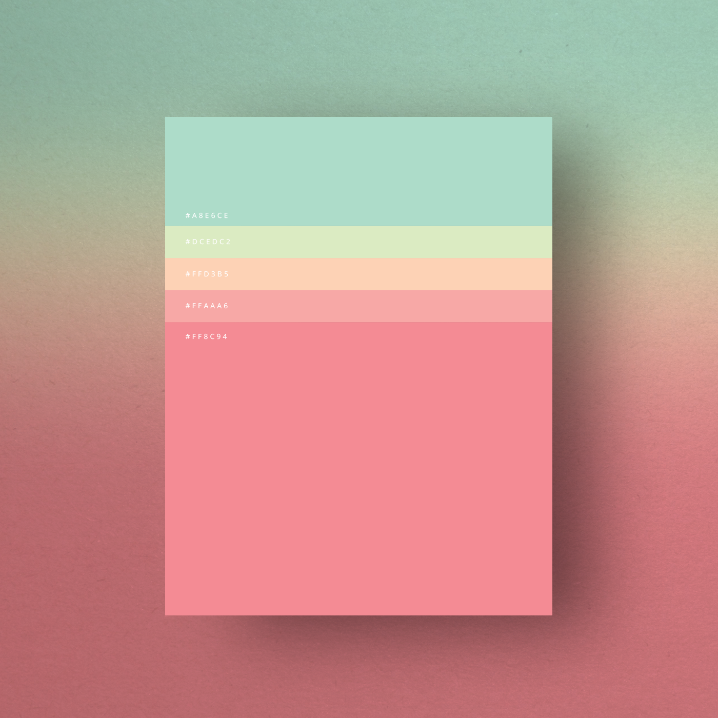 Green Pink Color Shades Combinations Palettes Schemes