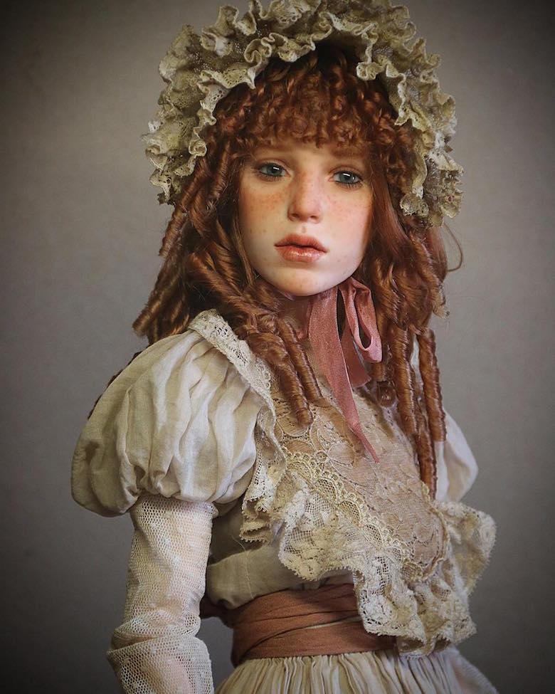 Realistic art doll faces by Michael Zajkov - 6