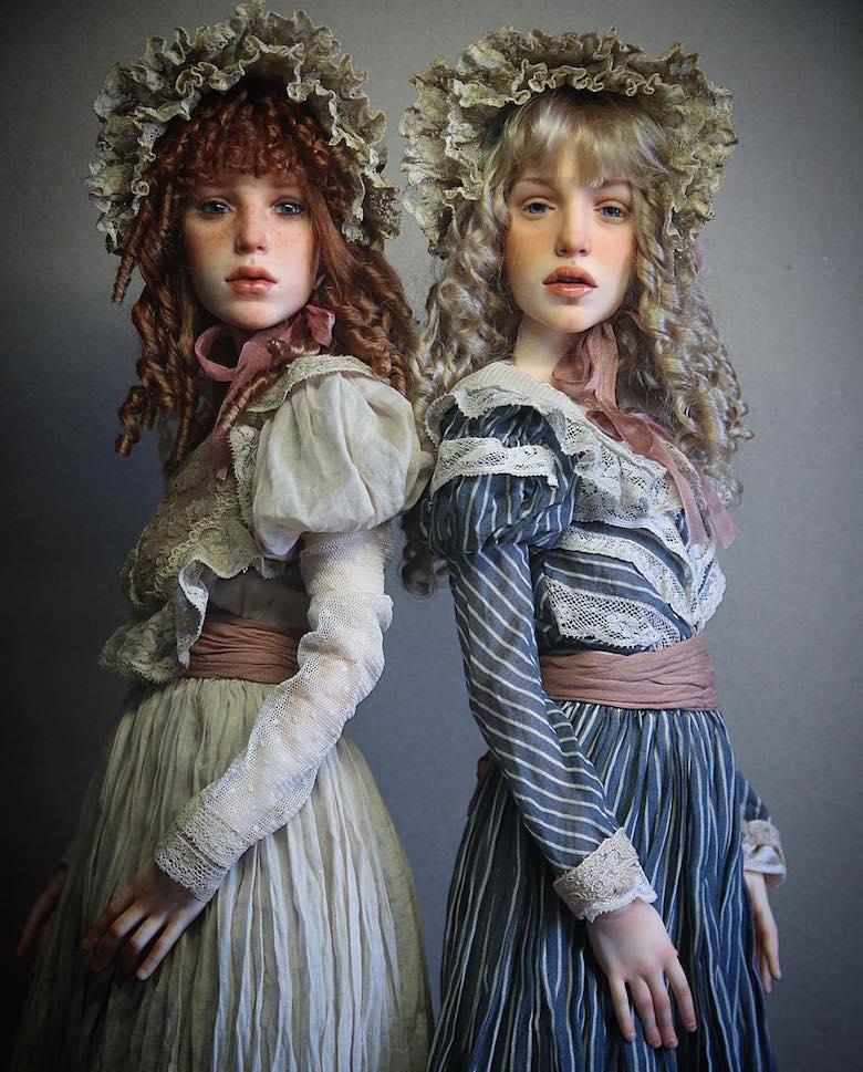 Realistic art doll faces by Michael Zajkov - 7
