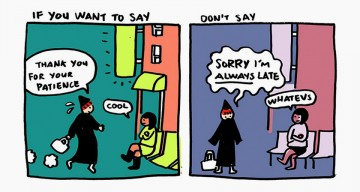 "A Wonderful Comic Strip That Reminds Us To Say ""Thank You"" Instead Of ""Sorry"""