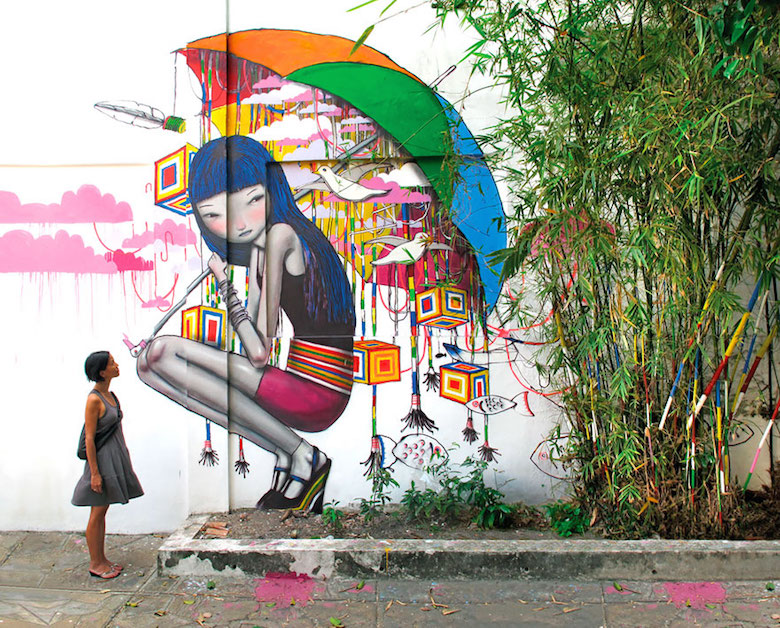 Street art & graffiti by Seth Globepainter (Julien Malland) - 13