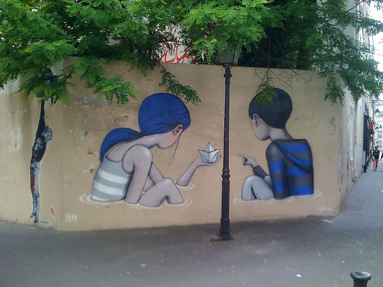 Street art & graffiti by Seth Globepainter (Julien Malland) - 16