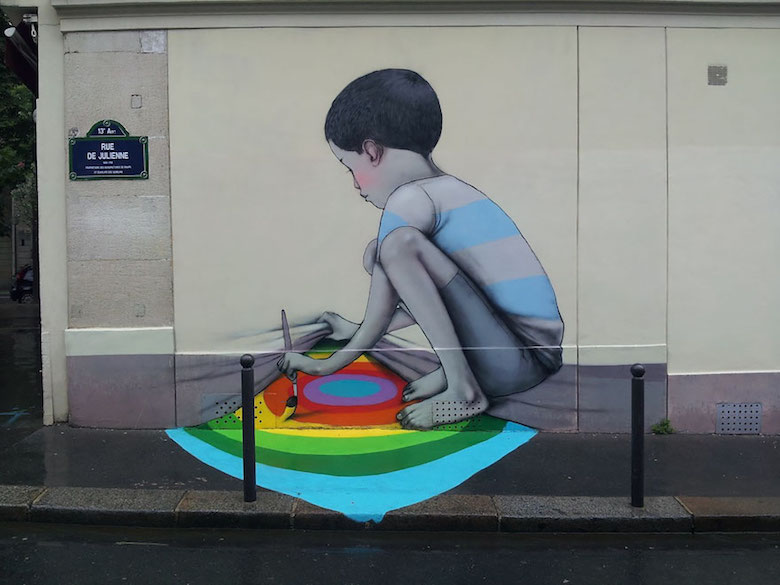 Street art & graffiti by Seth Globepainter (Julien Malland) - 17
