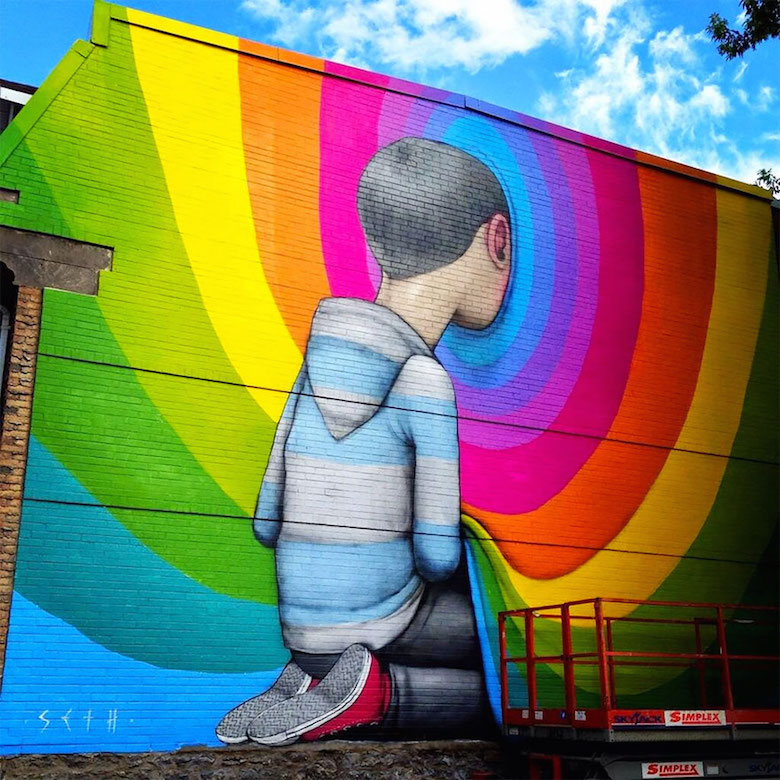 Street art & graffiti by Seth Globepainter (Julien Malland) - 19