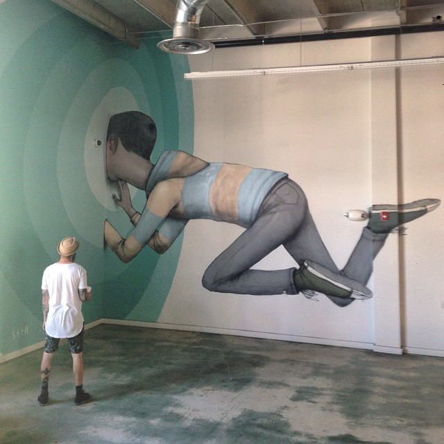 Street art & graffiti by Seth Globepainter (Julien Malland) - 30