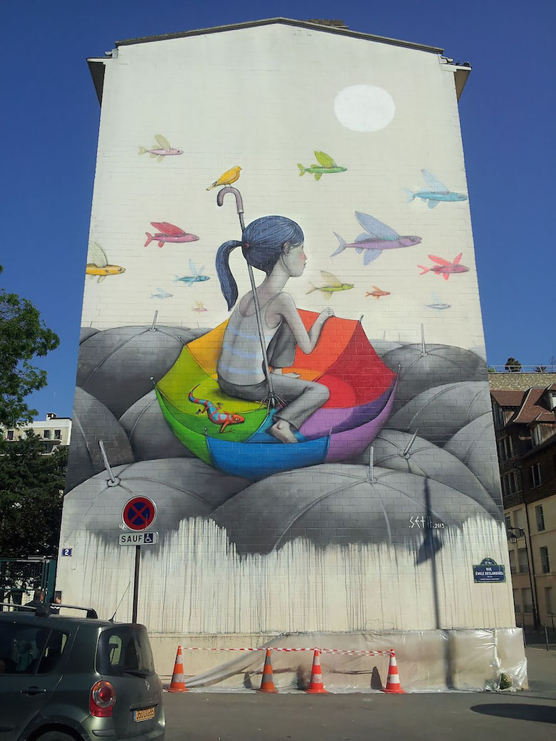 Street art & graffiti by Seth Globepainter (Julien Malland) - 4