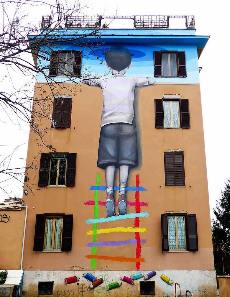 Street art & graffiti by Seth Globepainter (Julien Malland) - 9
