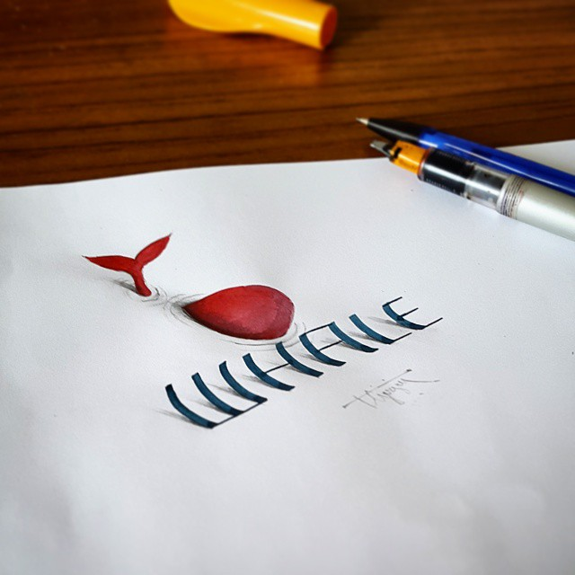 3d calligraphy and lettering by Tolga Girgin - 17