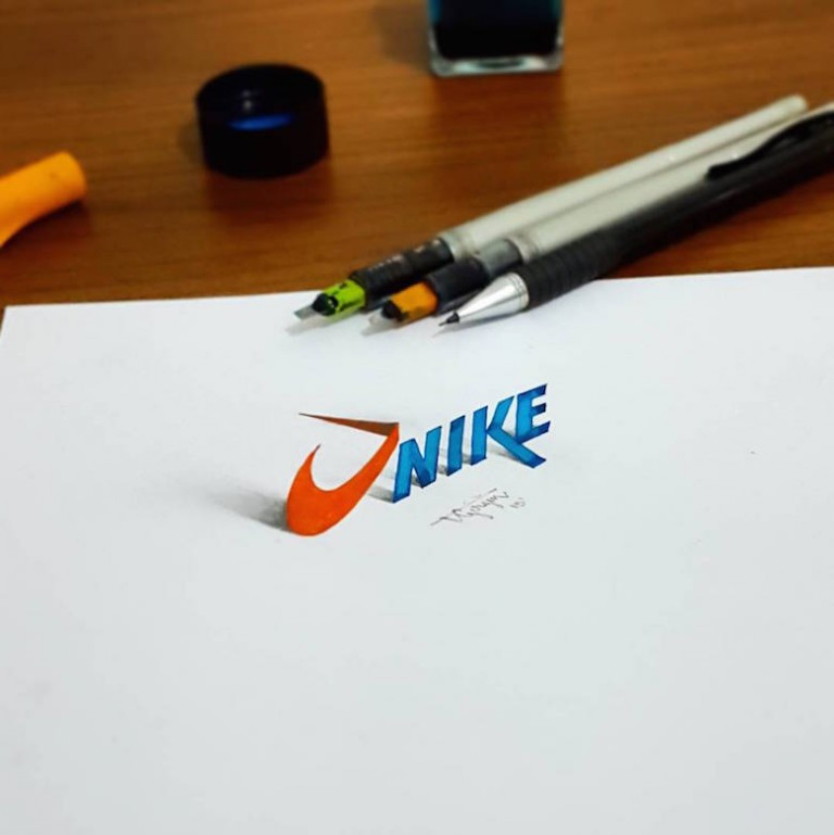 3d calligraphy and lettering by Tolga Girgin - 7