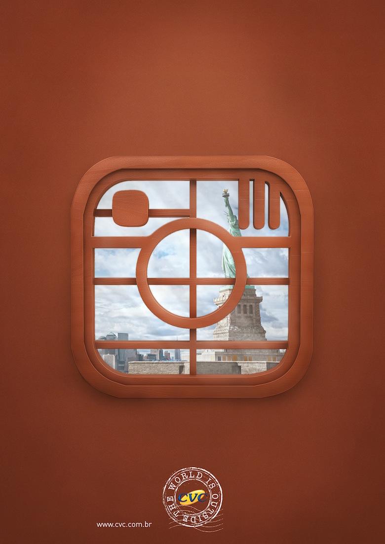 CVC Travel Agency: The world is outside (Instagram)