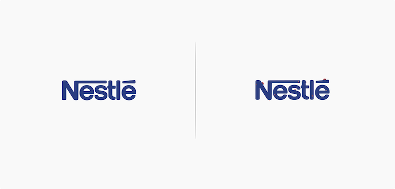 Famous logos affected by their products - Nestle