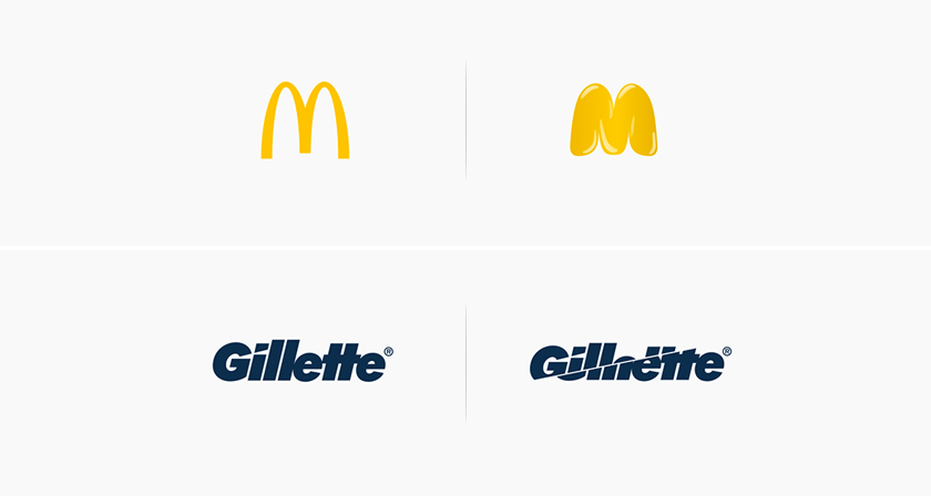 What Famous Logos Would Look Like If They Used The ...