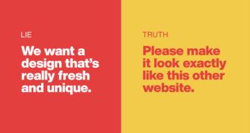 15 Lies Clients Tell Their Designers