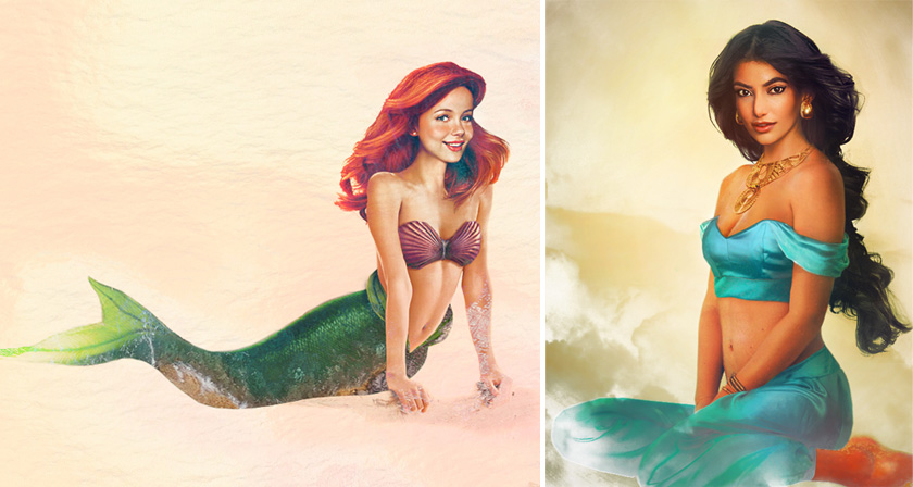 If Disney Girls Were Real This Is What They Would Look Like