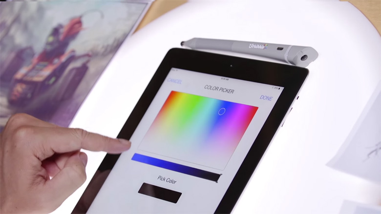 Scribble Color Picker Pen & Stylus - 15