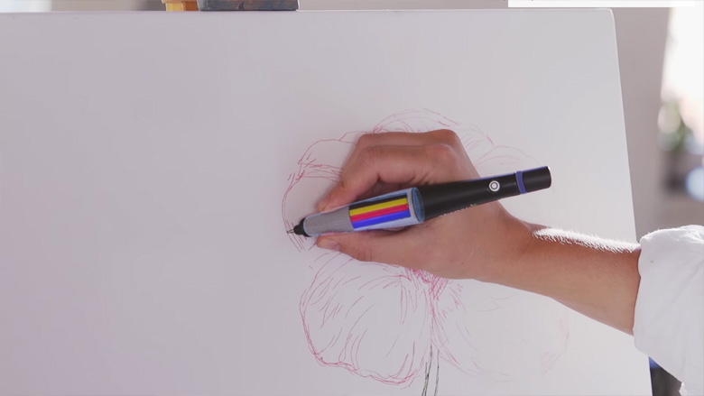 Scribble Color Picker Pen & Stylus - 5