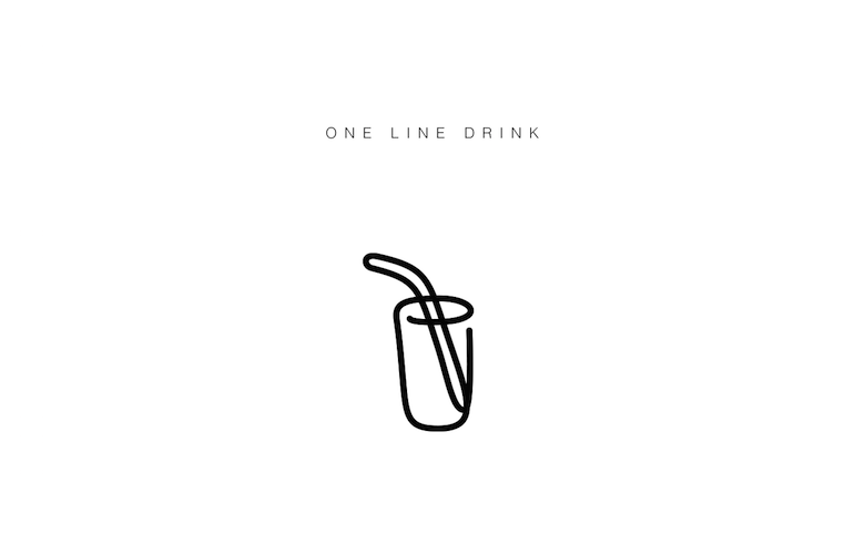 Free illustrated single line icons of everyday objects - 11
