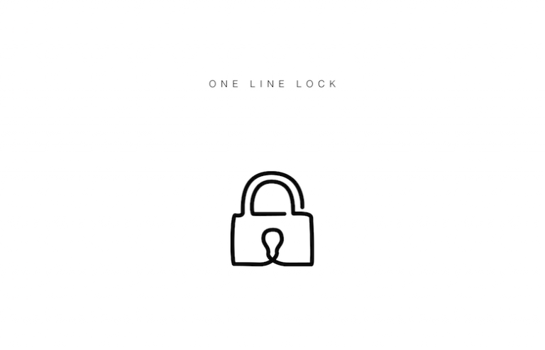 Free illustrated single line icons of everyday objects - 5