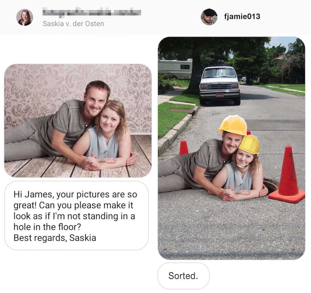 Graphic Designer responds to funny Photoshop requests - 18