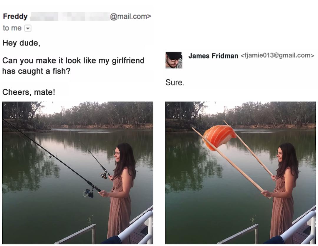 Graphic Designer responds to funny Photoshop requests - 1