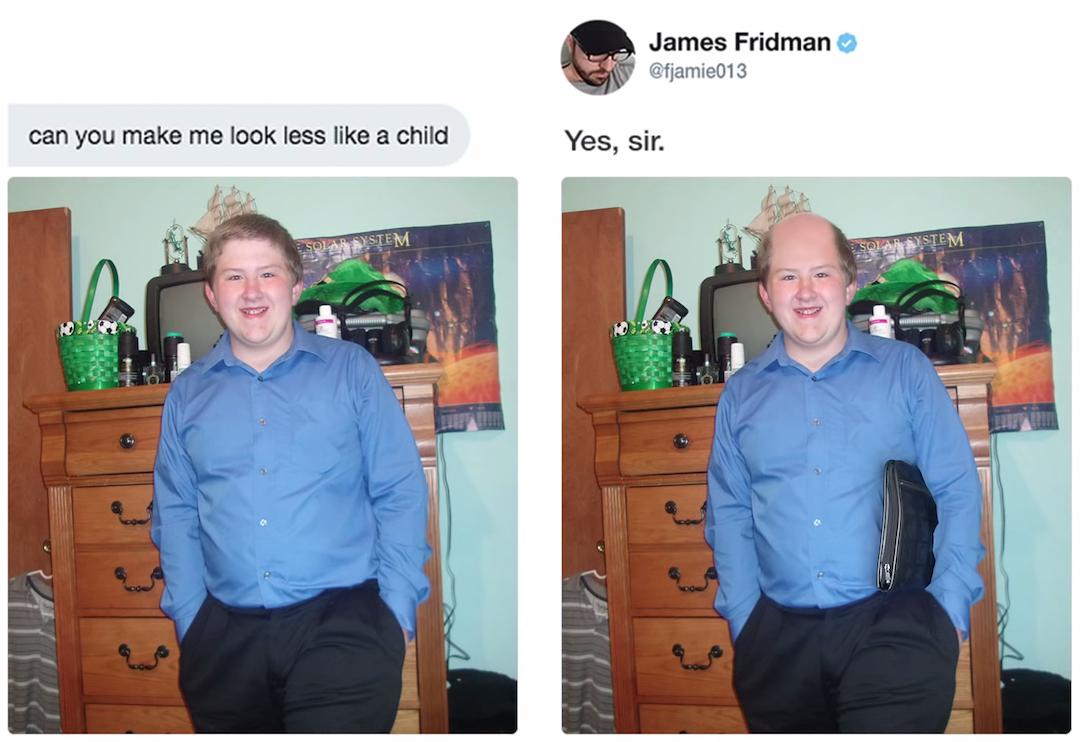 Graphic Designer responds to funny Photoshop requests - 3