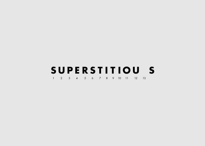 Word as Image: Superstitious