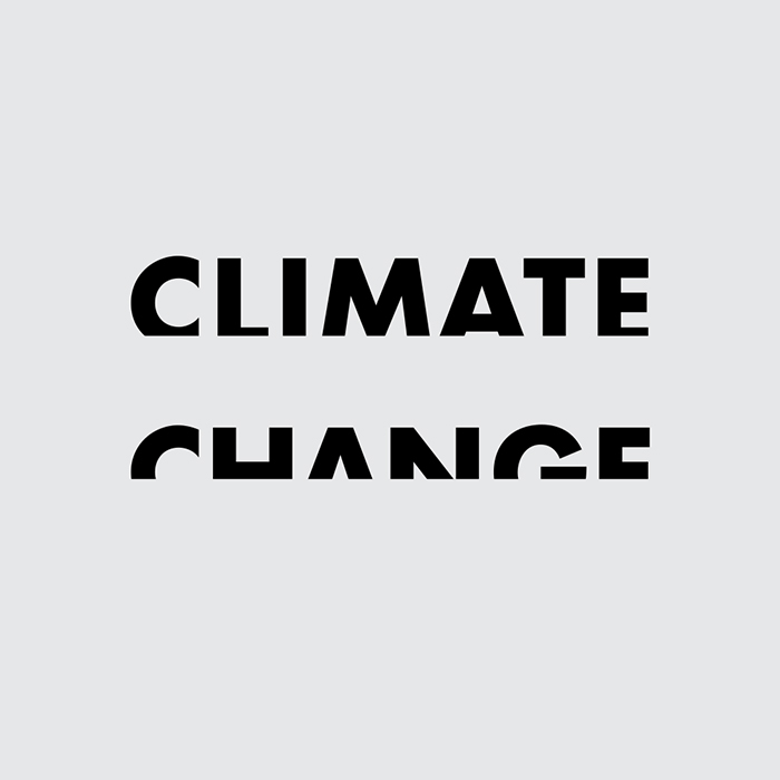 Word as Image: Climate Change