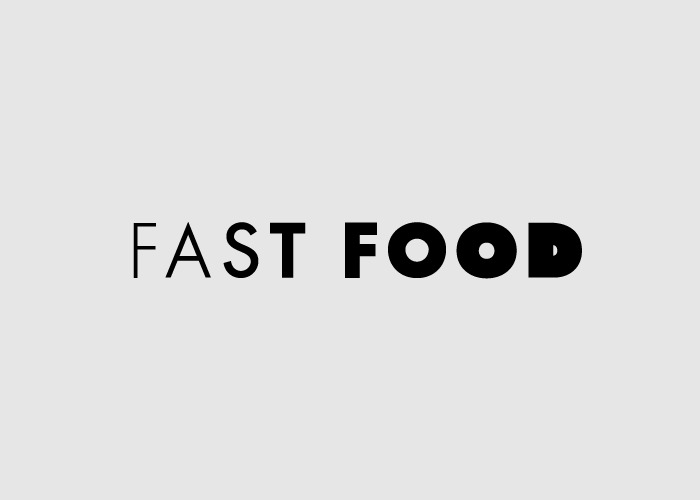 Word as Image: Fast Food