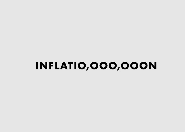 Word as Image: Inflation