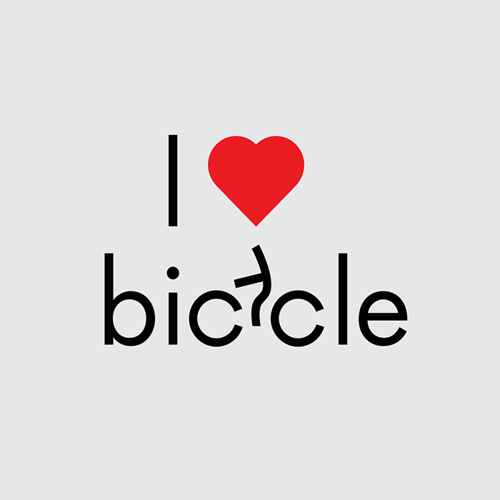 Word as Image: Bicycle