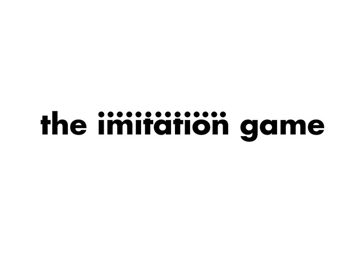 Word as Image: The Imitation Game