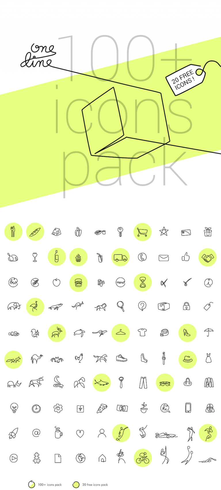 100 icon pack