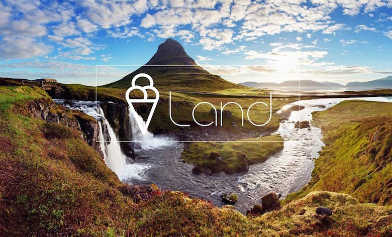 City logos & branding from their names - Iceland