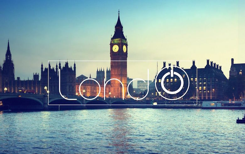 City logos & branding from their names - London