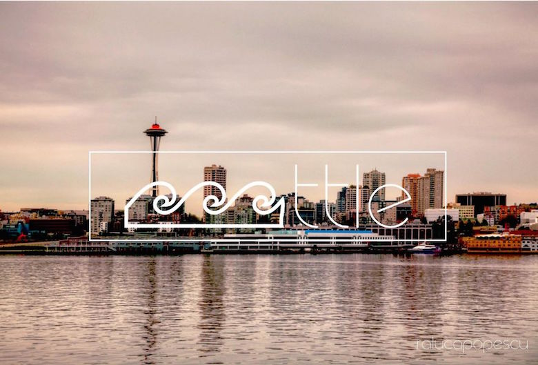 City logos & branding from their names - Seattle