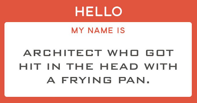 Funny designer prejudices based on your font choices - Bank Gothic