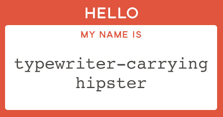 Funny designer prejudices based on your font choices - Courier