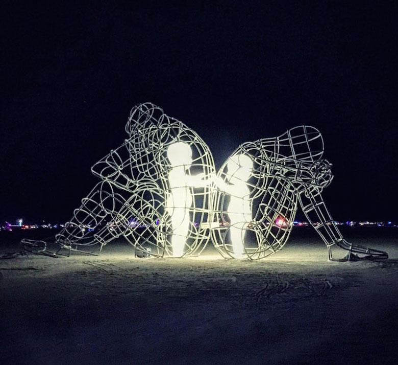 Love - Burning Man Sculpture (Inner Child) - 3