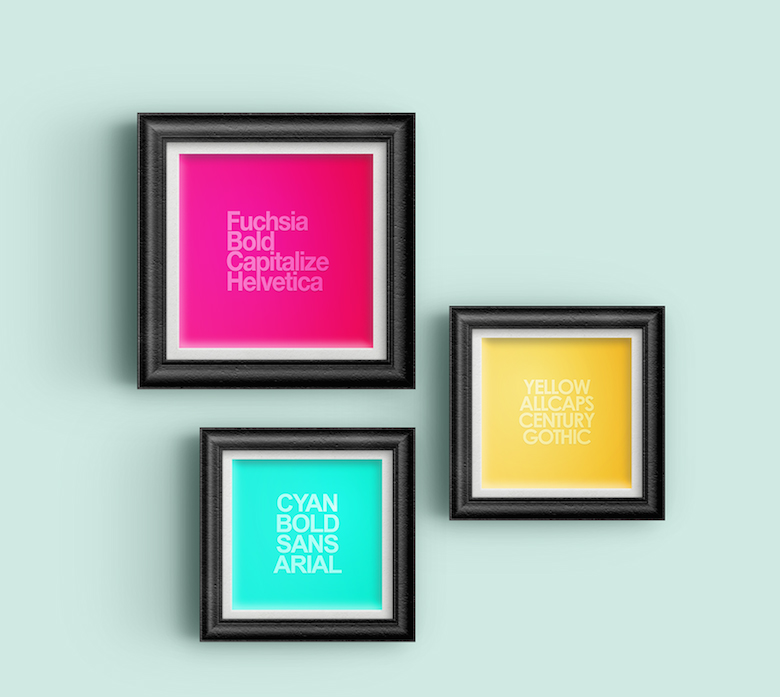 Metatype: Color, font, typography posters - 17