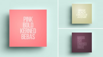 Elegant Typography Posters That Give You Font And Color Ideas For Your Next Project