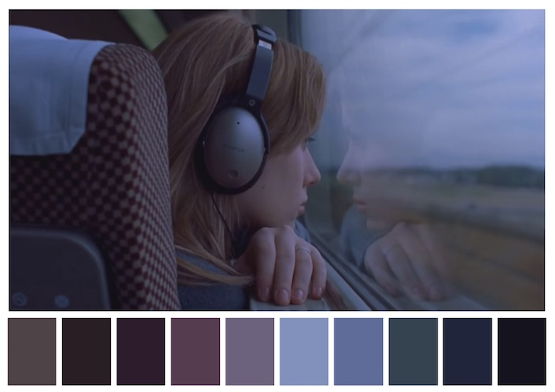 Cinema Palettes: Color palettes from famous movies - Lost in Translation