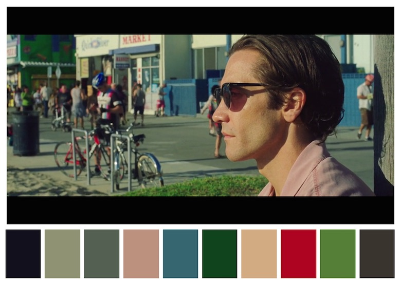 Cinema Palettes: Color palettes from famous movies - Nightcrawler