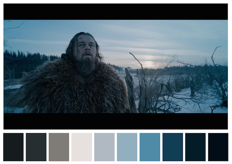 Cinema Palettes: Color palettes from famous movies - The Revenant