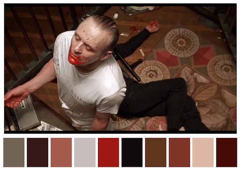 Cinema Palettes: Color palettes from famous movies - The Silence of the Lambs