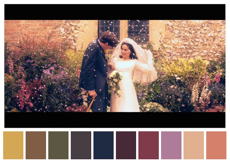 Cinema Palettes: Color palettes from famous movies - The Theory of Everything
