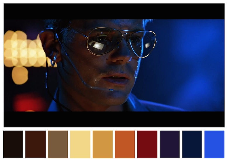 Cinema Palettes: Color palettes from famous movies - Top Gun